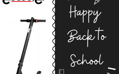eScooter wishes everyone a good back to school with a special voucher!